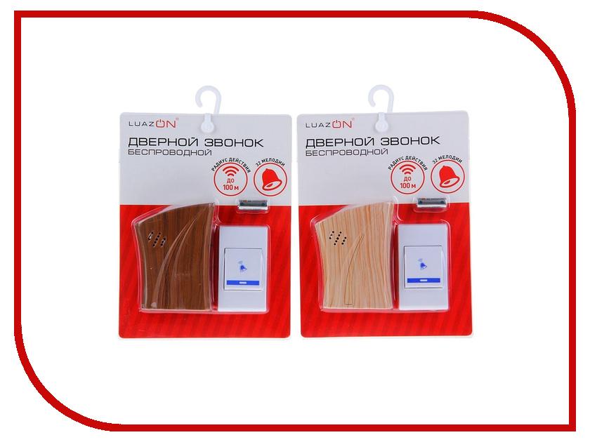 Звонок дверной Luazon LZDV-09 1196309 беспроводной<br>