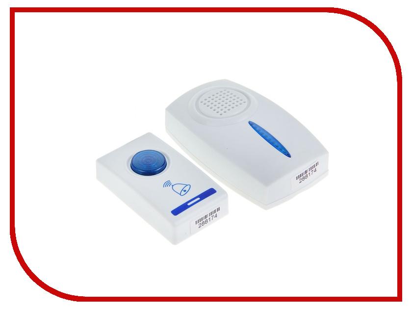 Звонок дверной Luazon LZDV-06 беспроводной 1196306 звонок электрический беспроводной светозар любимая мелодия 58075