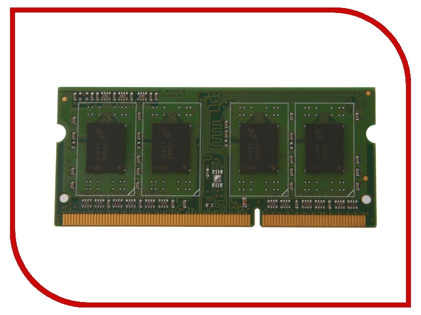 Модуль памяти Kingmax DDR3L SO-DIMM 1600MHz PC3-12800 - 2Gb FSGE83F-C8MLB<br>