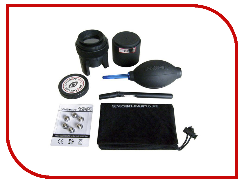 Аксессуар Набор Lenspen SensorKlear Loupe Kit SKLK-1 аксессуар lenspen micropro mcp 1