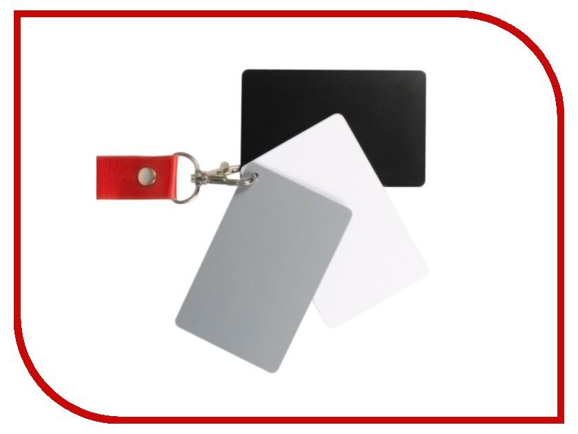 Аксессуар Fujimi DGC-1 / Dicom GC-3 / Flama FL-DGC / Flama FL-DGC-Z / Mennon / Pixco Cards - карточка установки баланса белого<br>