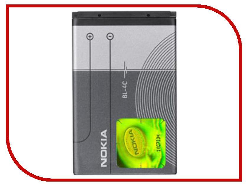 Аксессуар Аккумулятор Nokia BL-4C 950 mAh
