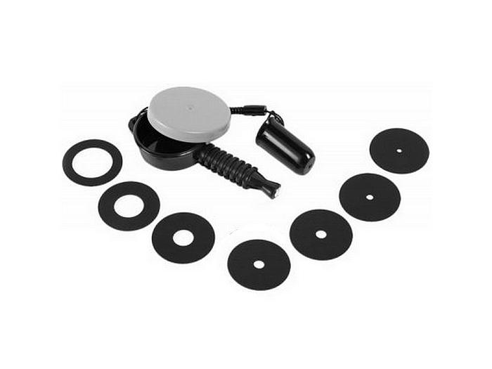 Объектив Lensbaby Aperture Magnetic Set F/2.8, F/4, F/5.6, F/8, F/11, F/16, F/22 LBMAS - набор магнитных дисков диафрагм