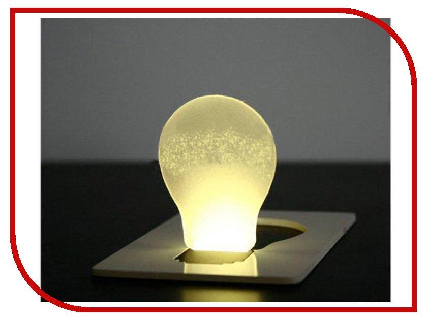 Гаджет Лампочка с кредитную карту TX-169B<br>