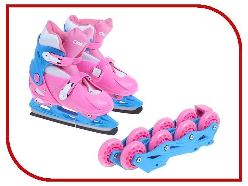 Коньки Onlitop ABEC-7 223F Pink 33-36 1131913