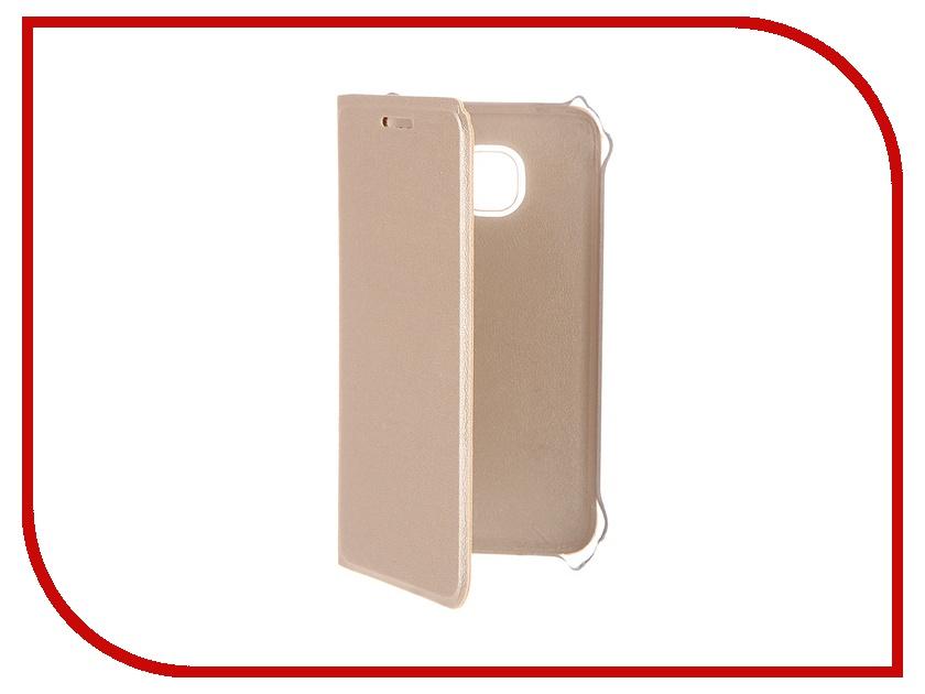 Аксессуар Чехол Samsung Galaxy J1 mini ACQUA Wallet Extra Gold 53929