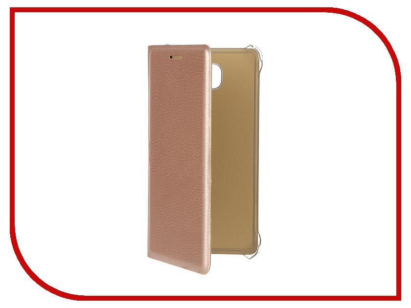 Аксессуар Чехол Samsung Galaxy A5 2016 ACQUA Wallet Extra Gold 53923