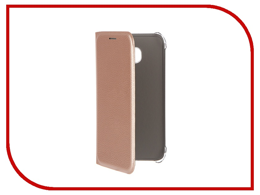 Аксессуар Чехол Samsung Galaxy S7 ACQUA Wallet Extra Gold 53843