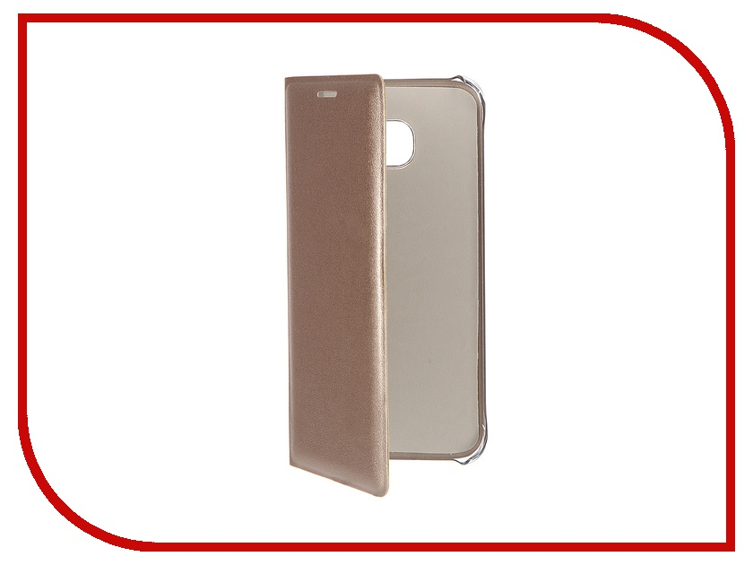 Аксессуар Чехол Samsung Galaxy S7 Edge ACQUA Wallet Extra Gold 53849<br>