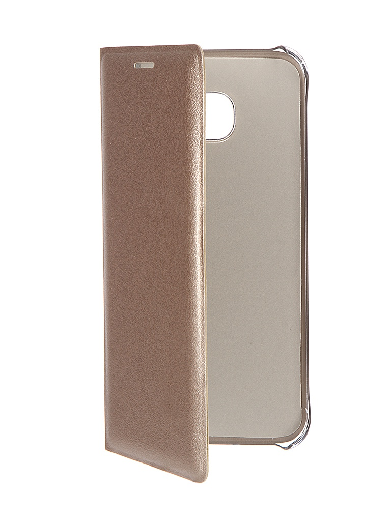 ��������� ����� Samsung Galaxy S7 Edge ACQUA Wallet Extra Gold 53849