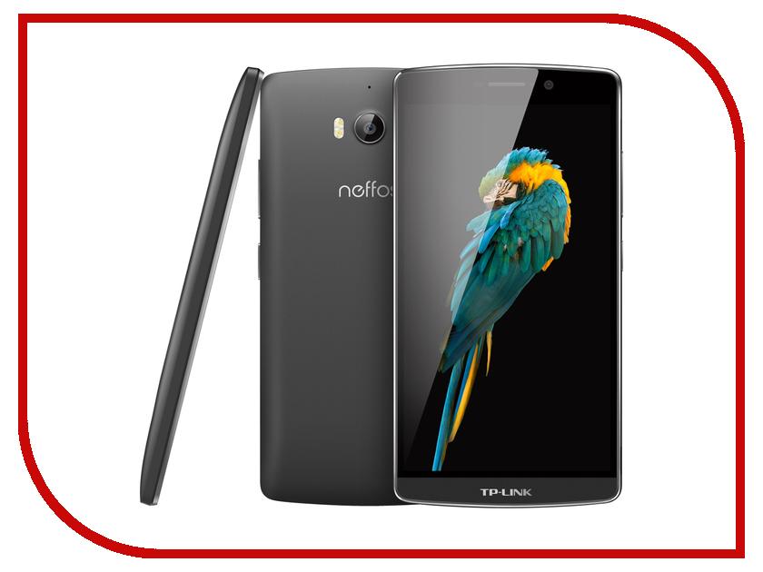 Сотовый телефон Neffos C5 Max Dark Grey NEF-TP702A24RU сотовый телефон elari nanophone c pink