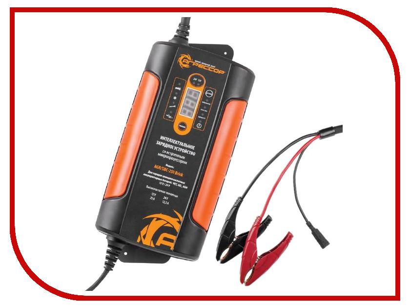 Зарядное устройство для автомобильных аккумуляторов Агрессор AGR/SBC-250 Brick<br>