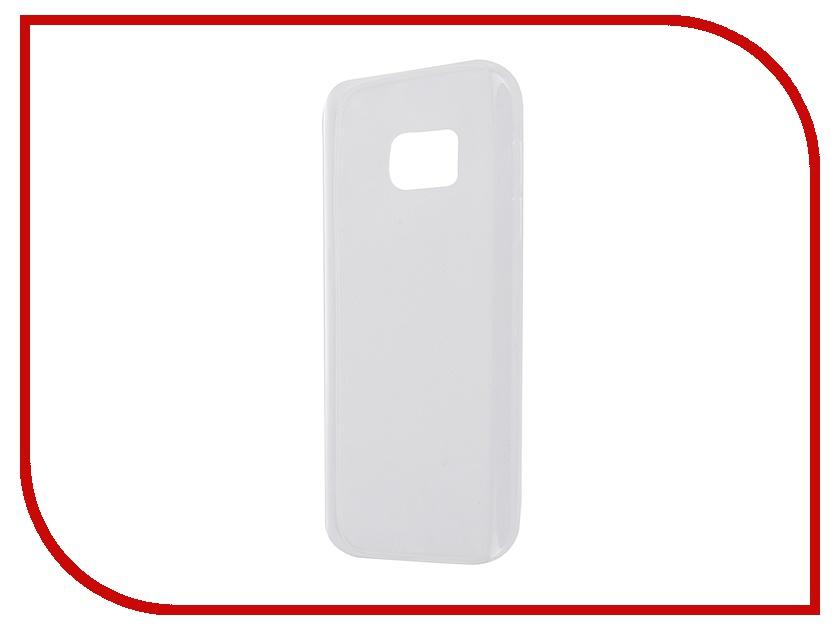 Аксессуар Чехол-накладка для Samsung Galaxy S7 G930F 2016 Gecko White S-G-SGS7-2016-WH чехол для samsung g930f galaxy s7 celly frost серый