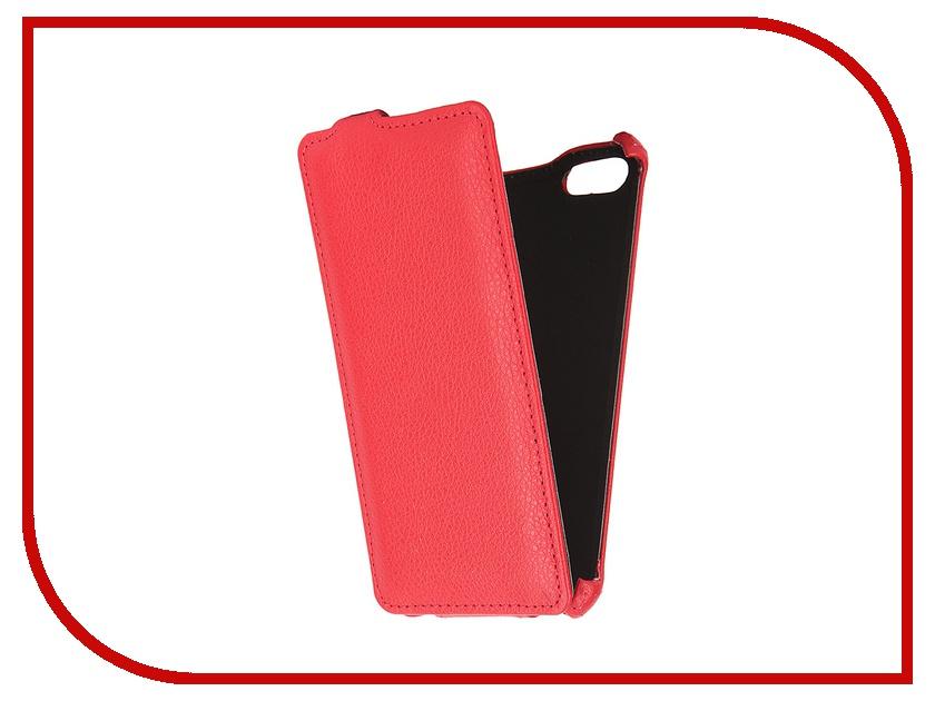 все цены на  Аксессуар Чехол Prestigio Muze D3 Gecko Red GG-F-PRESMUZE-RED  онлайн