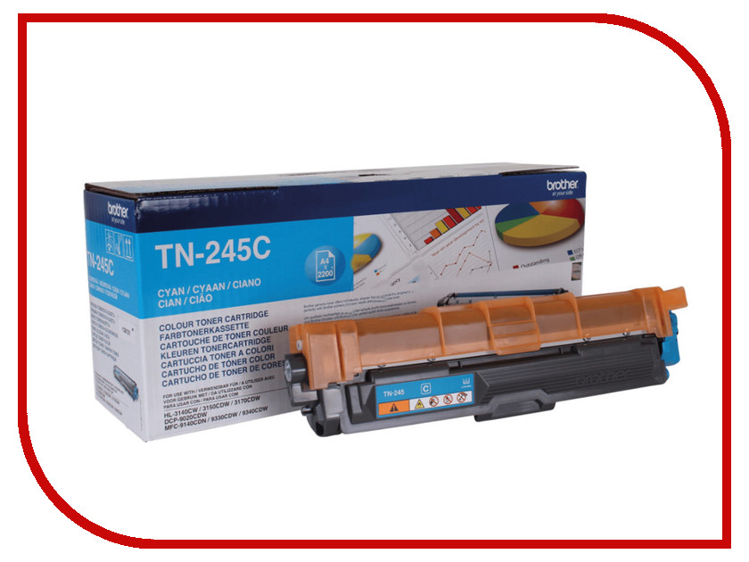 Картридж Brother TN-245C Blue для HL-3140CW/HL-3170CDW/DCP9020CW/MFC-9330CDW цены онлайн