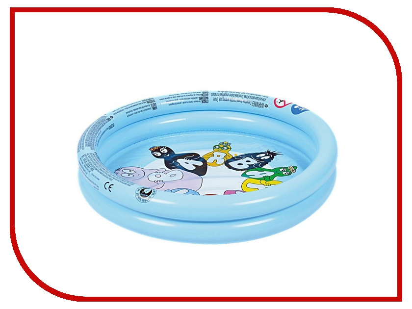 Детский бассейн Jilong Barbapapa 2-ring Pool JL017377NPF