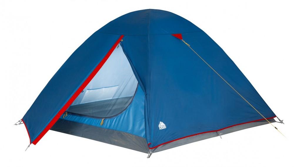 Палатка Trek Planet Dallas 3 Blue-Red 70103 палатка trek planet dallas 2 синий красный