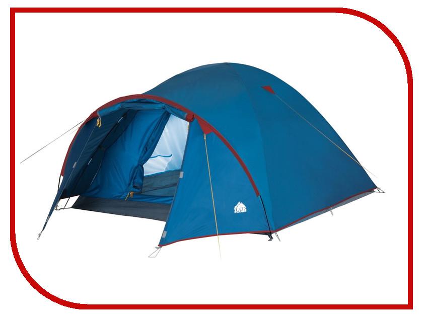 Палатка Trek Planet Vermont 3 Blue-Red 70109 палатка трехместная trek planet toronto 3 цвет темно зеленый оливковый