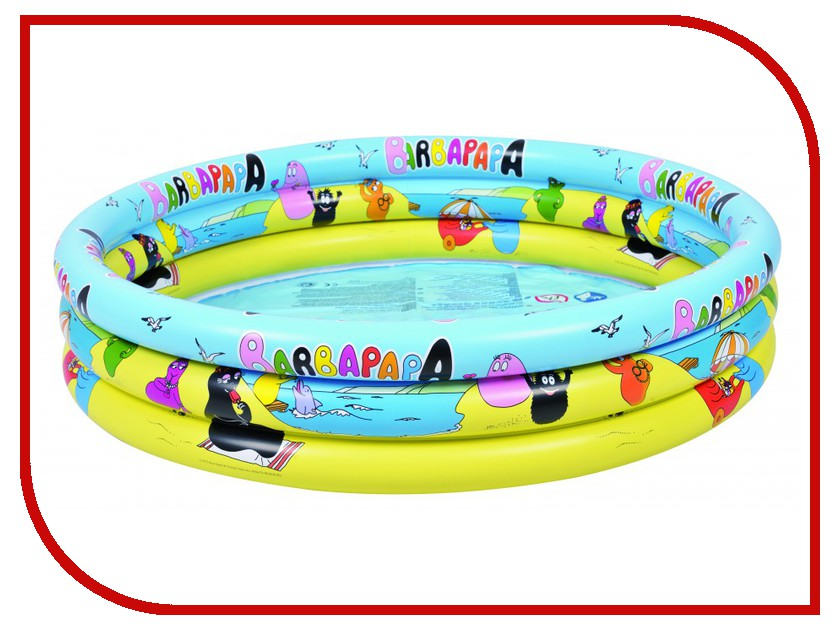 Детский бассейн Jilong Barbapapa 3-ring Pool JL017378NPF<br>