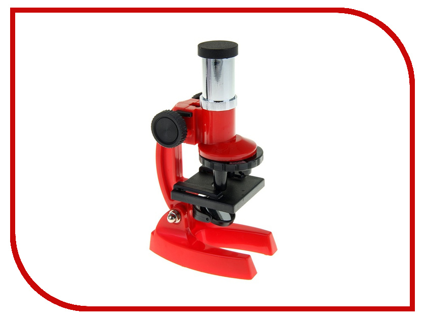 Микроскоп СИМА-ЛЕНД x100/200/300 Red 1164269