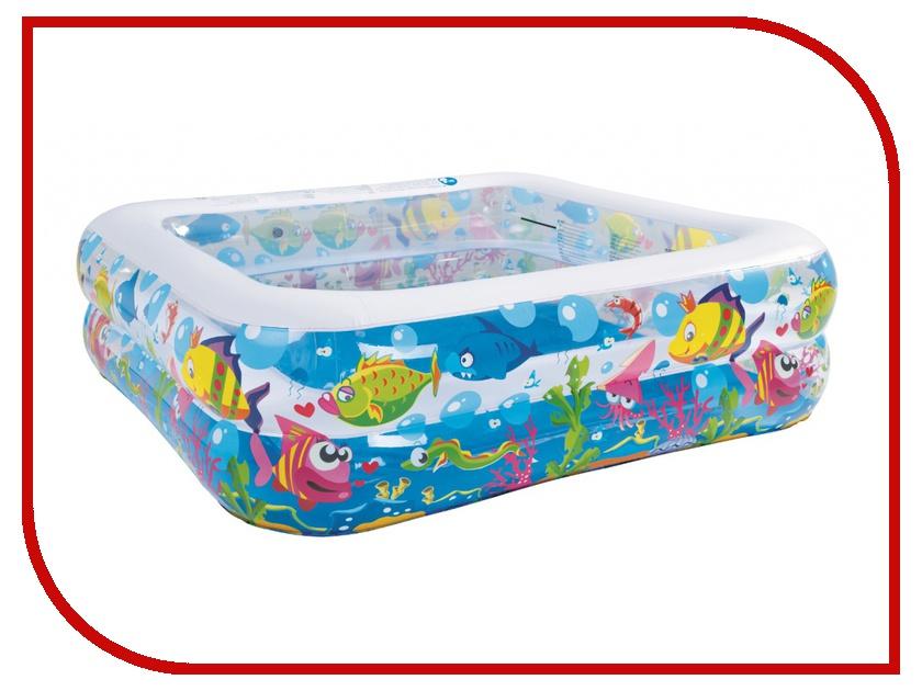 Детский бассейн Jilong Sea World Square Pool JL017421NPF