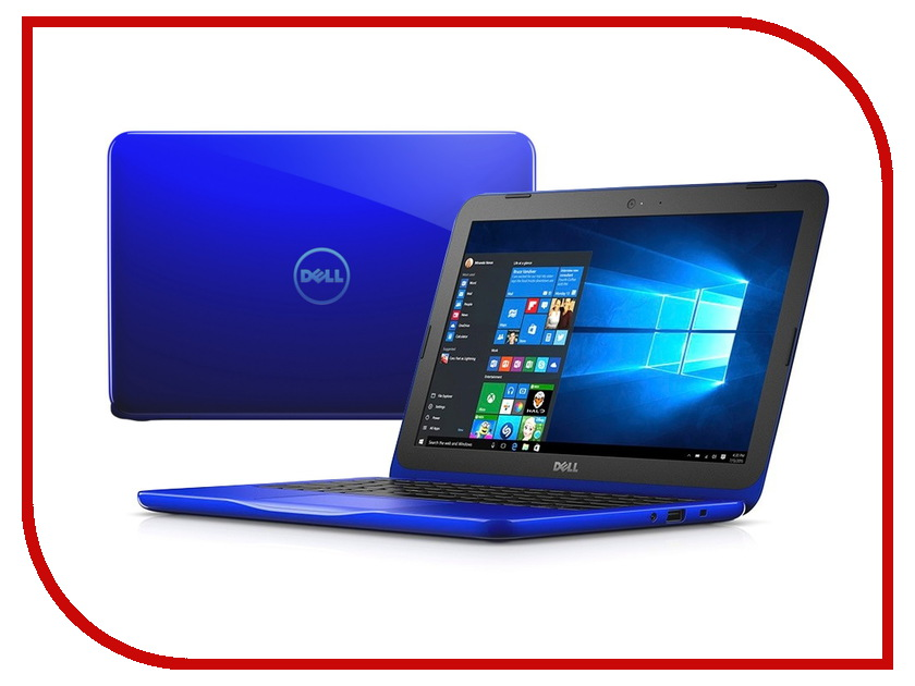 Ноутбук Dell Inspiron 3162 Blue 3162-4711 Intel Celeron N3050 1.6 GHz/2048Mb/32Gb/No ODD/Intel HD Graphics/Wi-Fi/Bluetooth/Cam/11.6/1366x768/Windows 10<br>