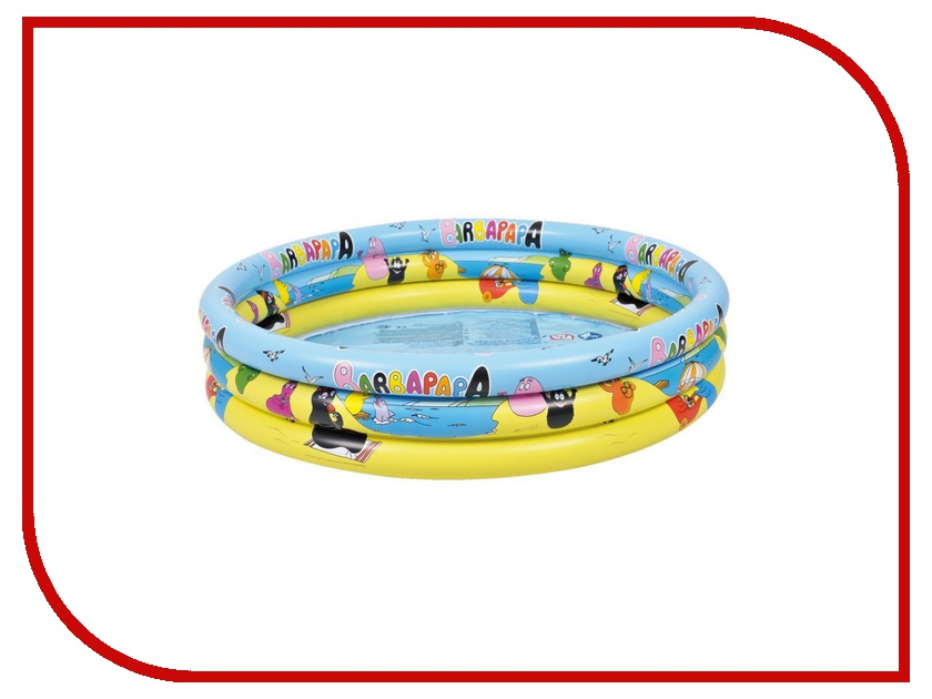 Детский бассейн Jilong Barbapapa 3-ring Pool JL017379NPF<br>