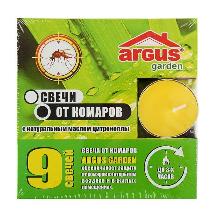 Средство защиты от комаров ARGUS свечи 9 шт 1374822 средство защиты argus 147425 клеевая ловушка