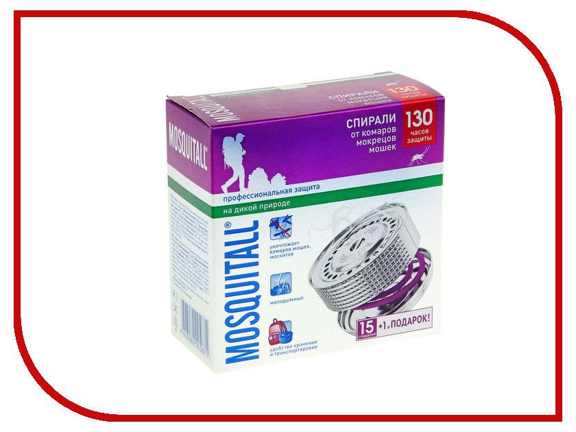 Средство защиты от комаров Mosquitall Профессиональная защита 16шт 1112388 - спирали