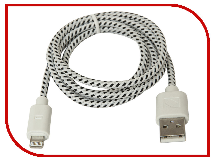 Аксессуар Defender USB AM -Lightning M 1m ACH01-03T 87471