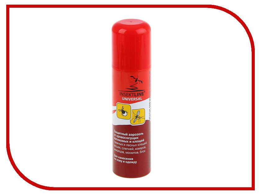 Средство защиты от комаров Insektline Universal Аэрозоль 145ml 1353389