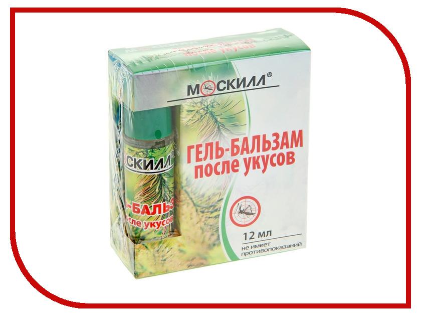 Средство защиты от комаров Москилл Roll-on Гель-Бальзам 12 мл 1119658