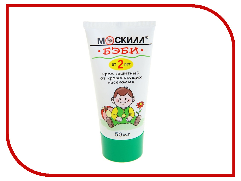 Средство защиты от комаров Москилл Крем БЭБИ 50мл 1119656