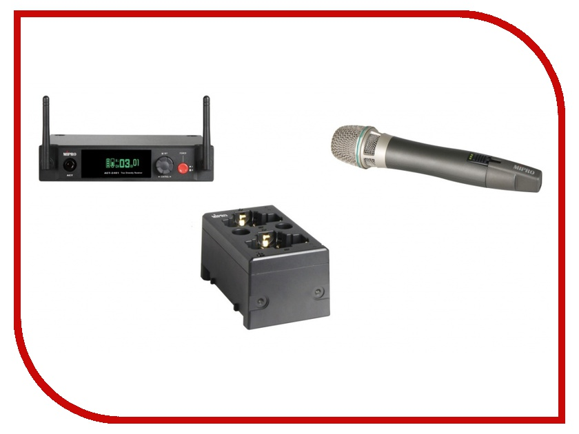 Радиомикрофон MIPRO ACT-2401/ACT-24HC/MP-80<br>