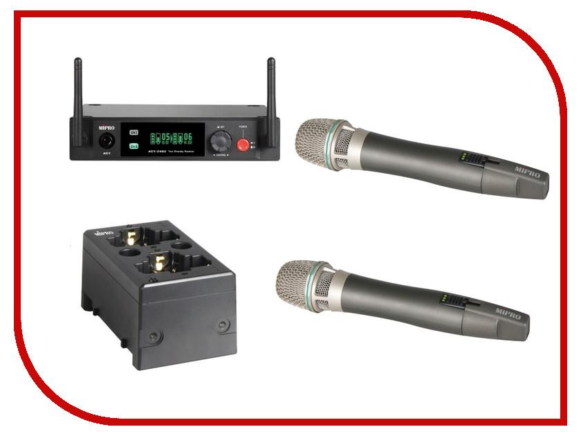 Радиомикрофон MIPRO ACT-2402/ACT-24HCx2/MP-80