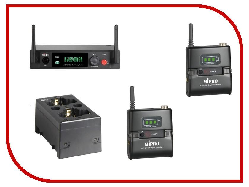 Радиомикрофон MIPRO ACT-2402/ACT-24TCx2/MP-80