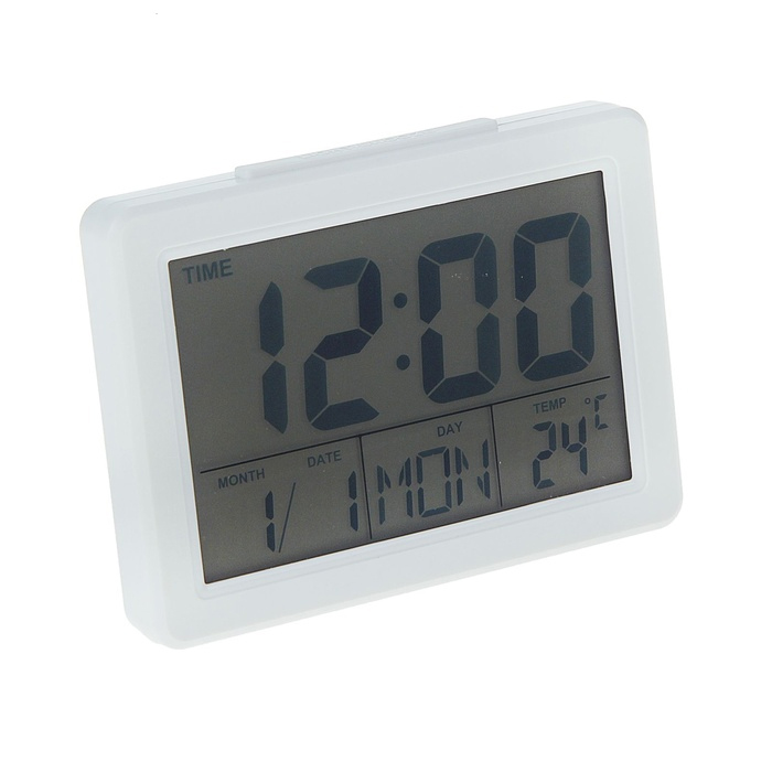 Часы Luazon LB-04 White 1163452