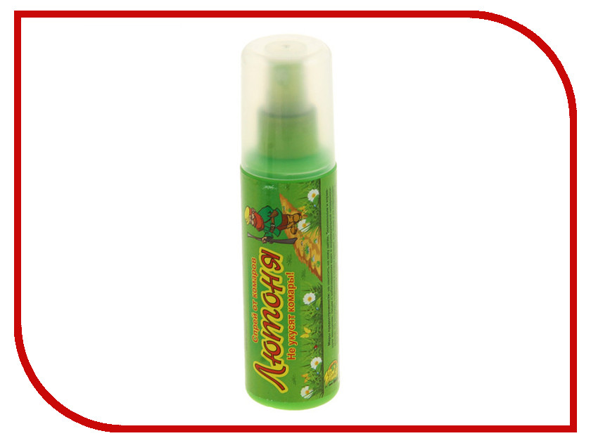Средство защиты от комаров Ваше Хозяйство Спрей Лютоня 125 мл 1108807<br>
