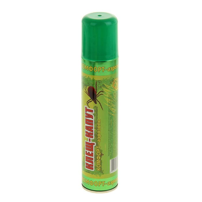 Средство защиты от комаров Ваше Хозяйство Аэрозоль Клещ-капут 180 мл 1108778<br>