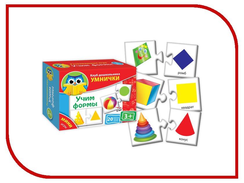 Пазл Vladi Toys Умнички Учим формы VT1309-01 vladi toys vt3002 01