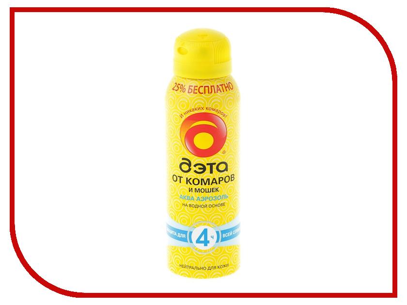 Средство защиты от комаров ДЭТА Аква 125мл 279596 - аэрозоль