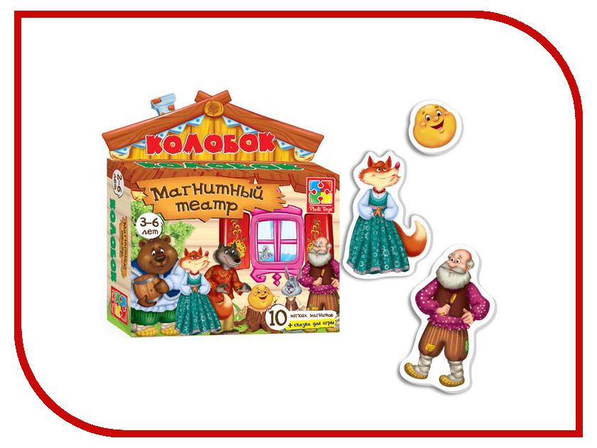 Игрушка Vladi Toys Магнитный театр Колобок VT3206-09 vladi toys магнитный кукольный театр репка