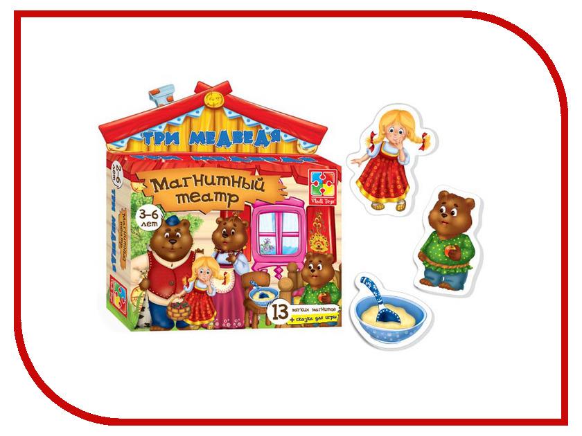 Игрушка Vladi Toys Магнитный театр Три медведя VT3206-10<br>