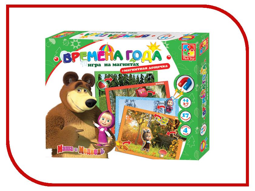 Игрушка Vladi Toys Времена года, Маша и медведь VT3304-12<br>