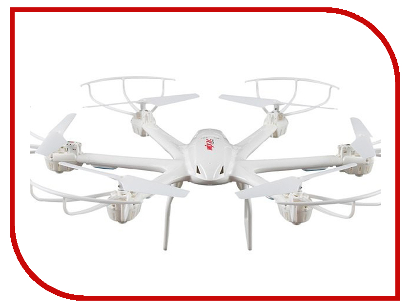Квадрокоптер MJX X600 White niosung high quality mjx x600 2 4g rc quadcopter drone hexacopter 6 axis gyro ufo flight