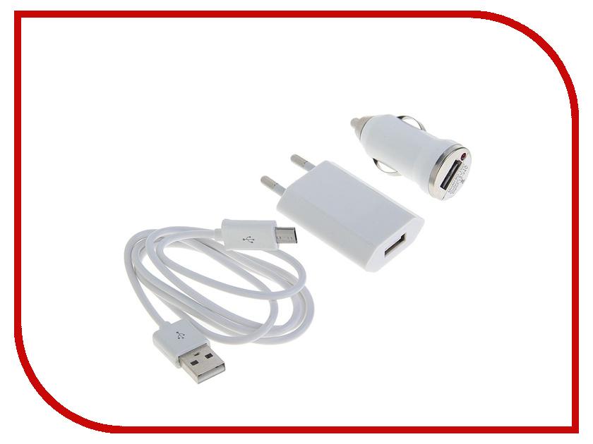 Зарядное устройство Luazon 2-in-1 1A 1335482<br>