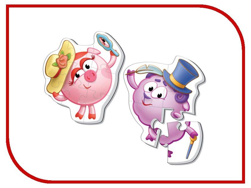 Игрушка Vladi Toys Мягкие пазлы Смешарики Макси, Нюша и Бараш VT1108-06<br>