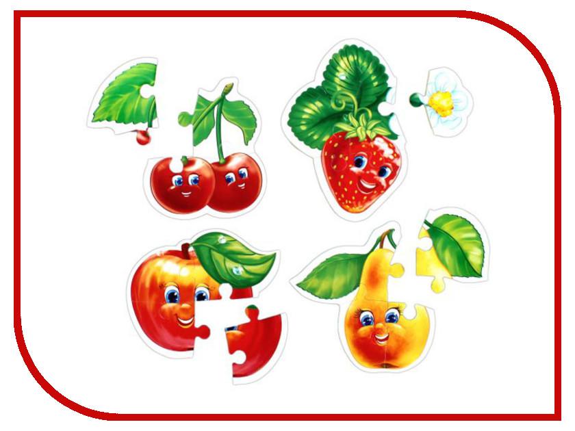 Пазл Vladi Toys Baby puzzle Фрукты VT1106-04 vladi toys пазл для малышей ягоды фрукты 4 в 1