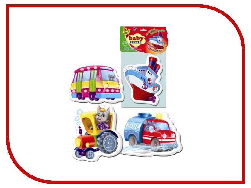 Фото Пазл Vladi Toys Baby puzzle Транспорт VT1106-08