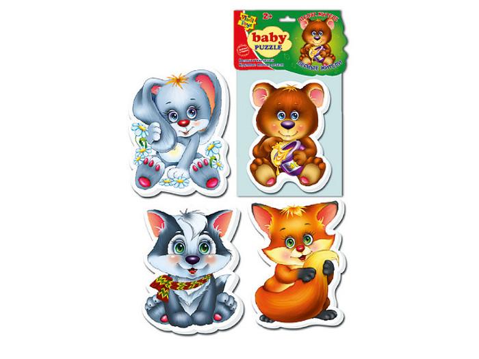 Игрушка Vladi Toys Baby puzzle Лесные жители VT1106-09<br>